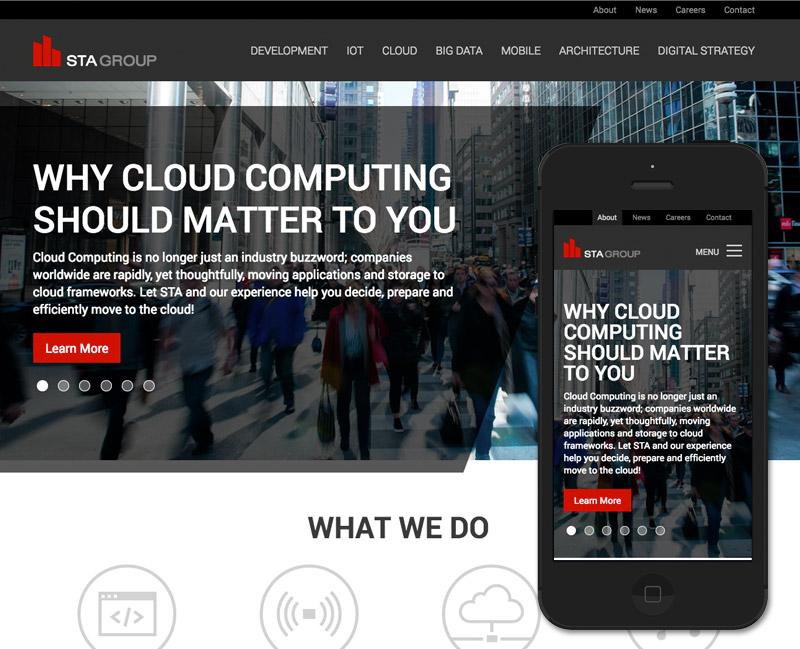 New STA Group Website